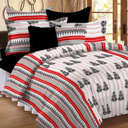 Valtellina Double Bed Sheet with 2 Pillow Cover-MO-120
