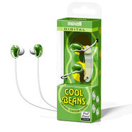 Maxell CBS Cool Beans In-Ear Earphone With Cord winder - Green