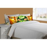 Mesleep White Double Bed Sheet With 2 Pillow Covers- SS-Pillow-02-14