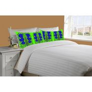Mesleep White Double Bed Sheet With 2 Pillow Covers- SS-Pillow-02-27