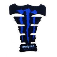 Monster Bike Tank Pad - Blue