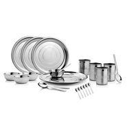 Mosaic 22 Pcs Stainless Steel Dinner Set