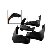 Set of 4 pcs Car Mud Flaps for Maruti Alto-800 - Black