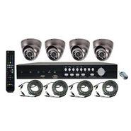 NPC 4 Camera Complete CCTV System