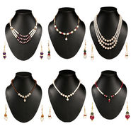 Combo Of  Nayab 6 Pcs Jewellery Set