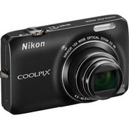 Nikon Coolpix S6300 Digital Camera - Black