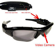 NPC Digital Sunglass Video Camera