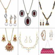 Combo of 8 Oleva Jewellery Set