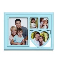 Cute Sky Blue Collage Photo Frame