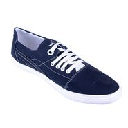 Porcupine Synthetic Casual Shoes PN-SH-CS-NB-WH - Navy Blue & White