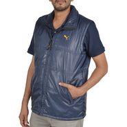 Branded Sleeveless Bomber Jacket (Polyester) For Men _PUMA-N.BLUE -  Navy Blue
