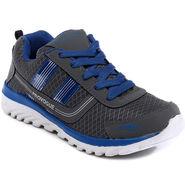 Provogue Grey & Blue Sports Shoes -Pv1064