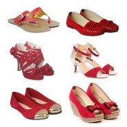 Pack of 6 All Occasion Footwear for Women -ts05