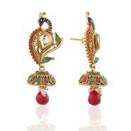 Panini Designer Dangle Earrings - Multicolour _ F-313