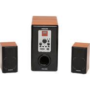 Persang Karoake PK3300 Multimedia Speakers - Black & Wooden