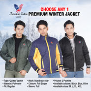 Premium Winter Jacket - Choose Any 1