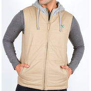 Puma Sleeveless Jacket With Hood_Puma05 - Beige