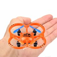 UFO Intruder 4 Channel Long Range Mini RC Quadcopter with 6-axis Gyro, LED Lights