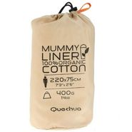 Quechua Mummy Cotton Liner Hiking Sleeping Bag Size - XL