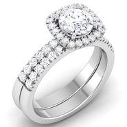 Kiara Swarovski Signity Sterling Silver Pradnya Ring_R3729 - Silver