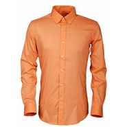 Royal Son Slim Fit Cotton Shirt For Men_Rs1o - Orange
