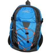 Donex Blue & Grey School Backpack -RSC740