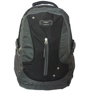 Donex Nylon Black Grey Laptop Backpack -Rsc01367