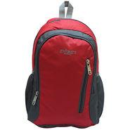 Donex Nylon Red Backpack -Rsc01406