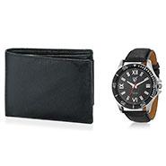 Combo of Rico Sordi Analog Wrist Watch + Wallet_12398210