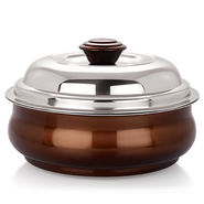 NanoNine 1000 ml Stainless Steel Belly Serving Pot-Copper_SS017