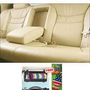 Samsun Car Seat Cover for Tata Indigo eCS - Beige