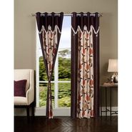 Set of 2 IWS Designer Door Curtain -Multicolor- IWS-CT-275