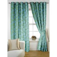 Story @ Home Aqua 2 pc Window curtain-5 feet-WNR3020