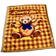 Mink Baby Blanket - Brown