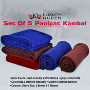 Set of 5 Panipat Kambal