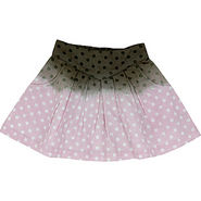 Shoppertree Special Ombre Dyed Dotted Piece Skirt (Multi Colour) - 612