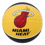 Spalding NBA Team Miami Basketball Basketball Size 7
