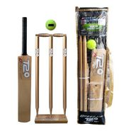Speed Up Gold T-20 Wooden Cricket Set Size - 4