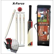 Speed Up X-Force Cricket Set With Gloves Size - 4