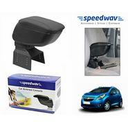Speedwav Car Armrest Console Black Color- Chevrolet Beat