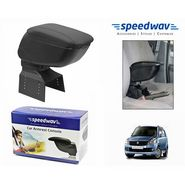 Speedwav Car Armrest Console Black Color- Maruti New WagonR