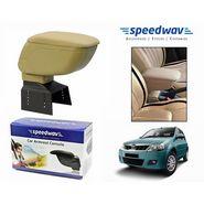 Speedwav Car Armrest Console Beige Color- Mahindra Verito