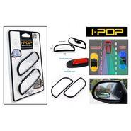 I-Pop Wide Rectangle Car Blind Spot Side Rear View Mirror