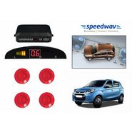 Speedwav Reverse Car Parking Sensor LED Display RED - Maruti New Alto 800