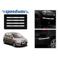 Speedwav Full Chrome Bumper Protector For Hyundai i10