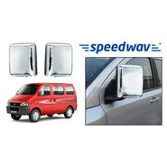 Speedwav Maruti Suzuki Eeco Chrome Mirror Covers Set of 2