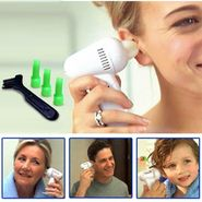 Electronic Vacuum Suction Ear Cleaner with FREE Back Scratcher