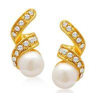 Sukkhi Astonishing Gold Plated Earrings - Golden - 6070EADM250