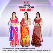Sunaina Designer Lehenga - Pick Any 1
