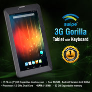 Swipe 3G Gorilla Tablet with Keyboard